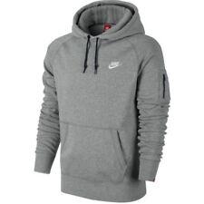Sudaderas de hombre grises Nike de poliéster