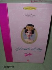 """1996 """"FRENCH LADY"""" THE GREAT ERAS COLLECTION BARBIE DOLL #16707, IN BOX"""