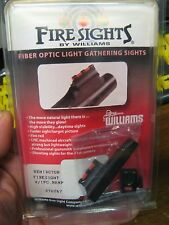 Williams Fiber Optic Fire Sights 70267 Remington Post 2003 Rifle & Muzzleloader