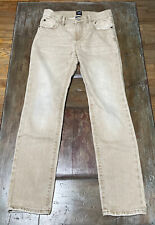 Boy's Gap Denim Khaki Jeans Size 10 Regular Stretch Slim