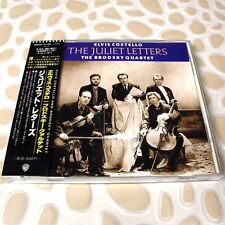 Elvis Costello & The Brodsky Quartet - The Juliet Letters JAPAN CD W/OBI #122-1