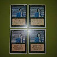 Gloom x4 - Fourth Edition 4th - Magic the Gathering MTG 4x Playset