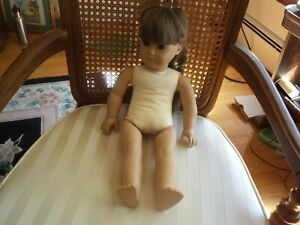 American Girl White Body Samantha Doll Pleasant Co. Retired Brown Eyes Clean EUC
