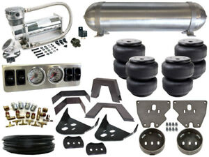 Complete Air Ride Suspension Kit - 1973-1987 Chevrolet C10 LEVEL 1 - 1/4""