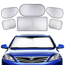 6pc Durable Car Sunshade Cover Auto Windshied Window Sun Shade Visors Block Set