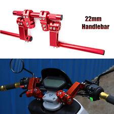 "Motorcycle Separating Handlebars 7/8"" 22mm Handlebars Set with Clip-On Adapter"