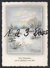 909Q)  Ansichtskarte  AK  Frohe Weihnachten & ein glückliches neues Jahr