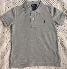 New Ralph Lauren Boys Cotton Polo-shirt L /14-16 Years -Grey