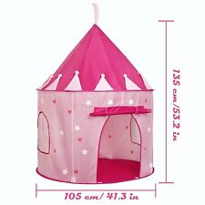 Princess Castle Pink Outdoors Tent Playhut Tunnel Girls castle House Toy