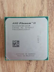 AMD Phenom II X4 965 3.4 GHz Quad Core Processor - Black Edition