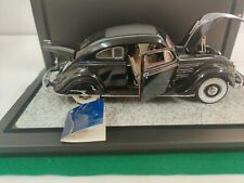 New ListingFranklin Mint Chrysler Airflow 1934 Black 1:24 Mint Condition with display case.