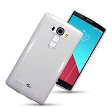 For LG G4 Case Cover Silicone Gel Skin Ultra Thin Transparent Clear Soft