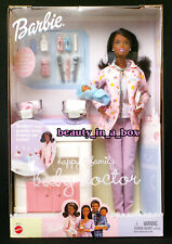 Happy Family Baby Doctor Barbie Doll African American AA