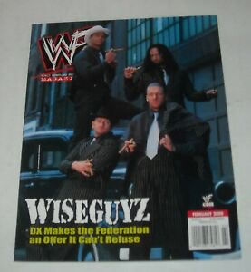 2000 WWF WRESTLING MAGAZINE DX D-GENERATION X TRIPLE H NEW AGE OUTLAWS X-PACK
