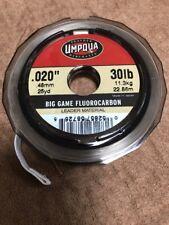 Umpqua Big Game Flurocarbon Leader Material 30lb
