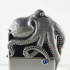 Zippo Octopus 3d Limited Edition 0416/2500 en estupenda llamada acrílico cubo!!! nuevo embalaje original