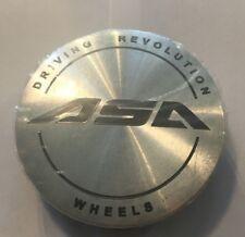 NEW ASA SILVER CENTER CAP PART # ASA-2-CAP C10K69  **FREE SHIPPING**