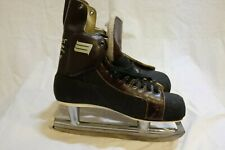 vintage Bauer pro panther ice hockey skates mens size 10 w/ ankle guard