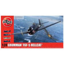 Airfix Grumman F6F-5 Hellcat Aircraft Model Kit - Scale 1:24 - A19004