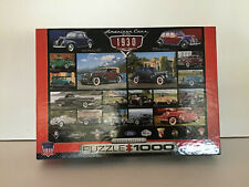 EuroGraphics COMPLETE 1000 pc AMERICAN CARS OF THE 1930s CRUISIN SERIES