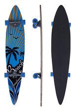 """Longboard Long Board Skateboard Streetsurfer Skate Planche Neuf 9"""" axad"""