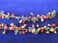 Vtg Millinery Flower Fruit Vegetable Garland Collection Apple Pear German H3248