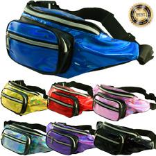 New Shinning Fashion Fanny Pack Bags Waist Hip Belt Bag Travel Purse Pouch LOT
