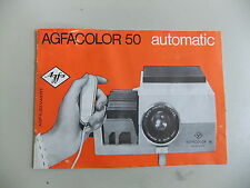 Instructions Slide projector AGFA Agfacolour 50 automatic copy CD/Email