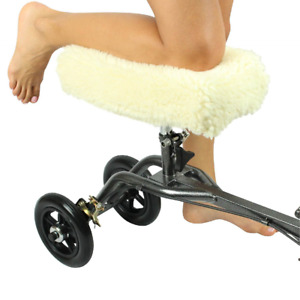 Knee Walker Pad Cover  - Best Faux Sheepskin Pad For Rolling Scooter