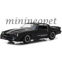 GREENLIGHT 13519 1981 CHEVROLET CAMARO Z28 YENKO Z 1/18 MODEL CAR BLACK