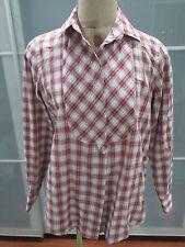 Gant by Michael Bastian Plaid Button Down Tunic Shirt 10