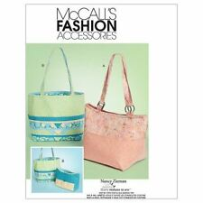 McCall's Sewing Pattern 6296 Totes and Organizers, One Size Only