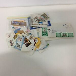 Assorted used postage stamps #460