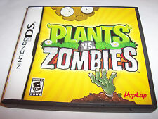 Plants vs. Zombies Nintendo DS Lite DSi XL 3DS 2DS w/Case & Manual