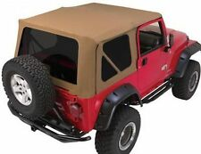 Rampage Complete Soft Top w/ Frame & Tint 97-06 Jeep Wrangler TJ 68817 Spice