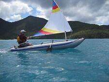 Sail kit for Sea Eagle Paddleski Kayak with Bigger 45 SF Sail  and Carry Bag
