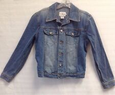 Calvin Klein Jeans Distressed  Denim Jacket Women SZ S CJ242