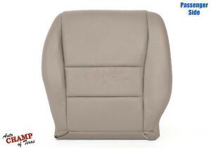 2004 2005 Honda Accord 4-Door EX SE LX -Passenger Bottom Leather Seat Cover Tan