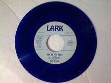"Joe Darensbourg & Dixie Flyers 45 rpm ""Four Or Five Times"" LARK 454 on BLUE-WAX"