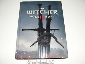 The Witcher III 3 Wild Hunt Official Collectors Edition Strategy Guide Hardcover