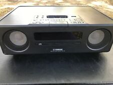 Yamaha TSX-130 Desktop Audio System iPhone / iPod dock USB CD FM Radio Brown
