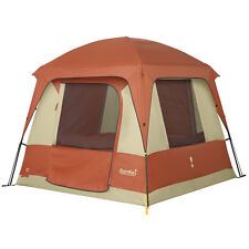 Eureka Copper Canyon 4 Person Durable Frame 6-Pole Cabin-Style Tent
