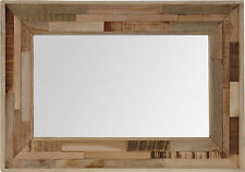 Very Large Wall mirror Retro Style Wall Mirror Can be hung either way 75 x 50 cm