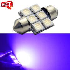 1pc Purple 31mm 6smd 5050 LED DE3175 Bulbs For Car Interior Dome Map Light bulbs