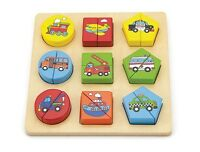 Viga Shape Block Puzzle - Vehicles #59586 (FREE DELIVERY)