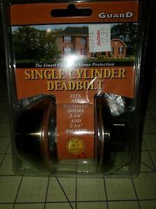 Guard Security Single Cylinder Deadbolt