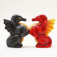 S & P Dragons Salt & Pepper Shakers Wiccan Pagan Kitchen Witch Gift