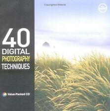 40 Digital Photography Techniques Kim, John, Youngjin.com Paperback