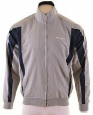 CHAMPION Mens Tracksuit Top Jacket Large Grey  MS21