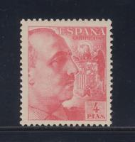 ESPAÑA (1949) NUEVO SIN FIJASELLOS MNH - EDIFIL 1058 (4 pts) FRANCO - LOTE 1
